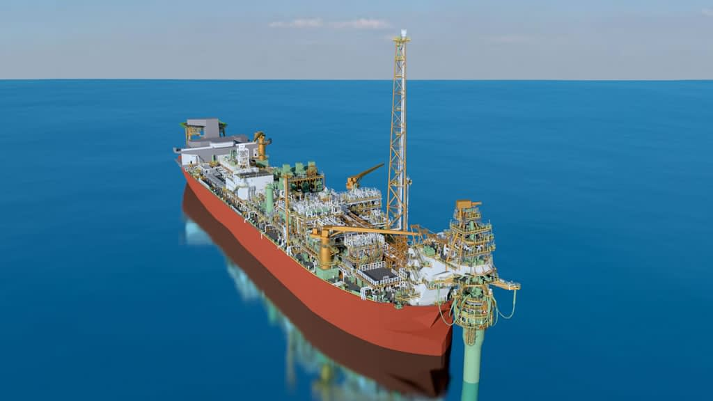 Intelligent CAD Model Created with Photogrammetry of a Floating Production Storage and Offloading (FPSO) unit used as a Digital Twin